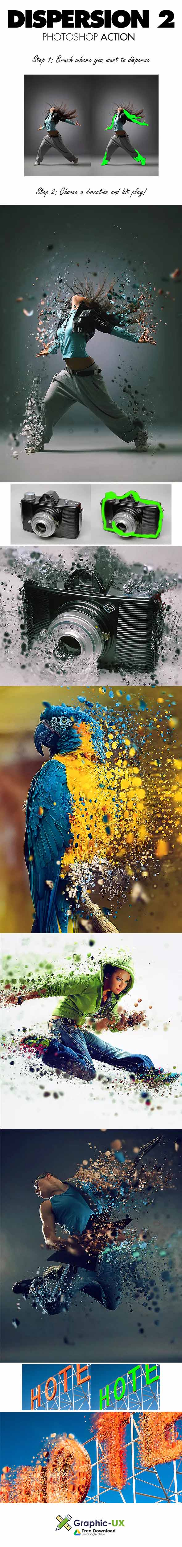 dispersion 2 photoshop action free download