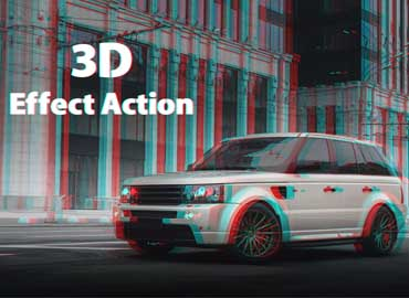 Abstract Photoshop Action free download