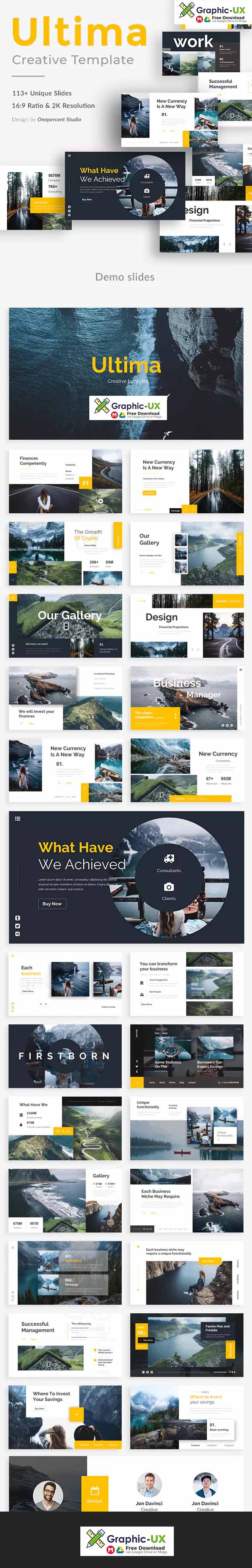 Ultima Creative Powerpoint Template