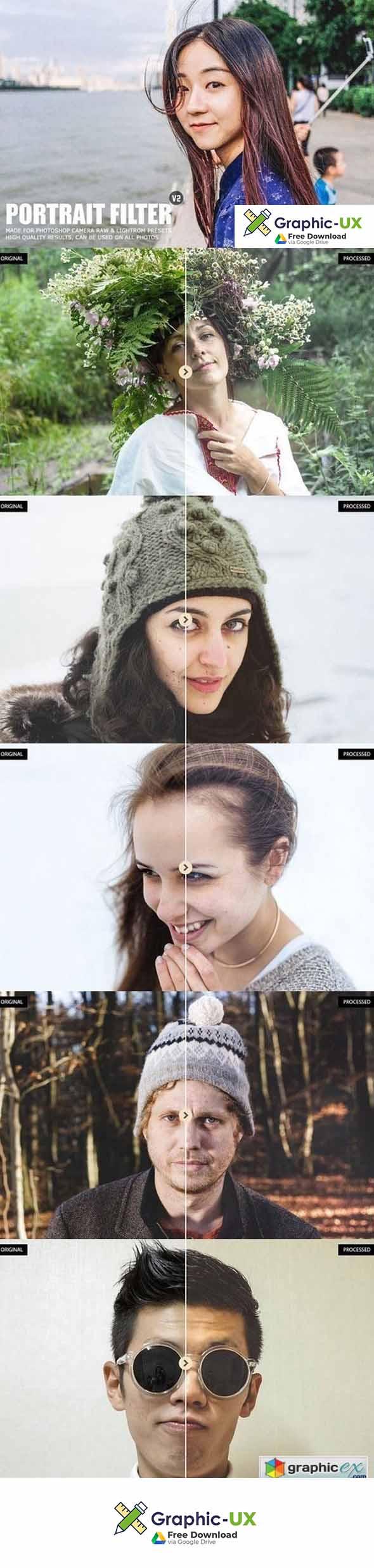 Pro Portrait Lightroom Presets Ver. 2