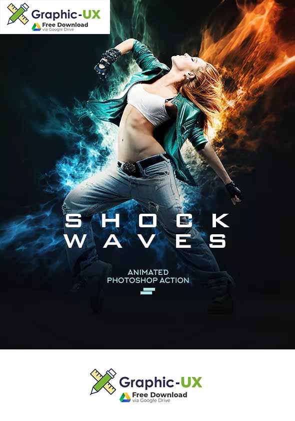 Gif Animated Shockwave