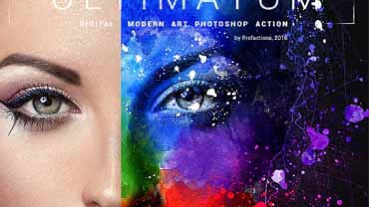 ultimatum digital art photoshop action free download