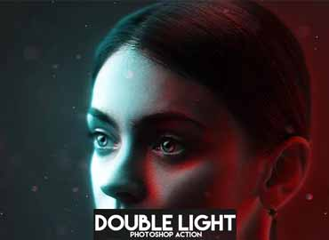 double light photoshop action free download
