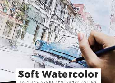 soft watercolor