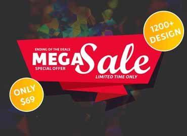1200+ Tshirt Design Mega Sale