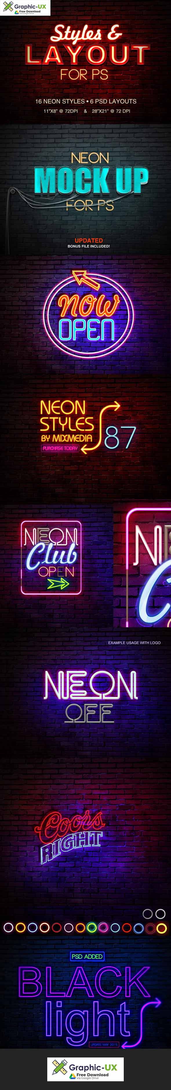 Neon Sign Styles
