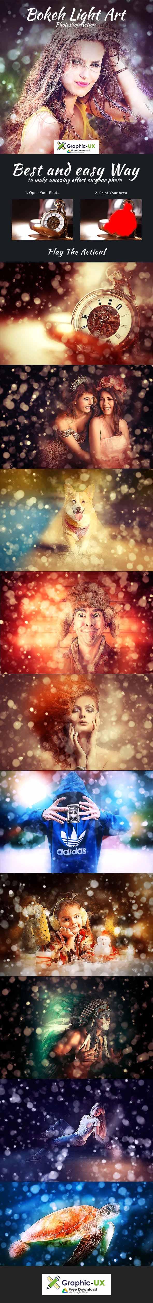 Bokeh Light Art