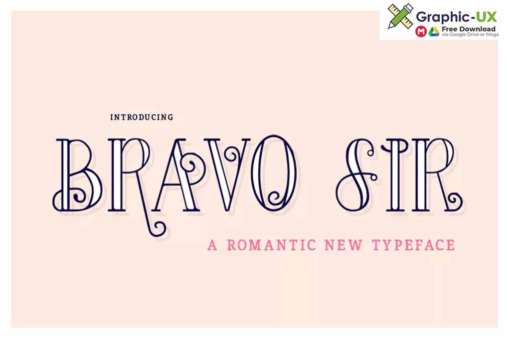 Bravo Sir Font Family