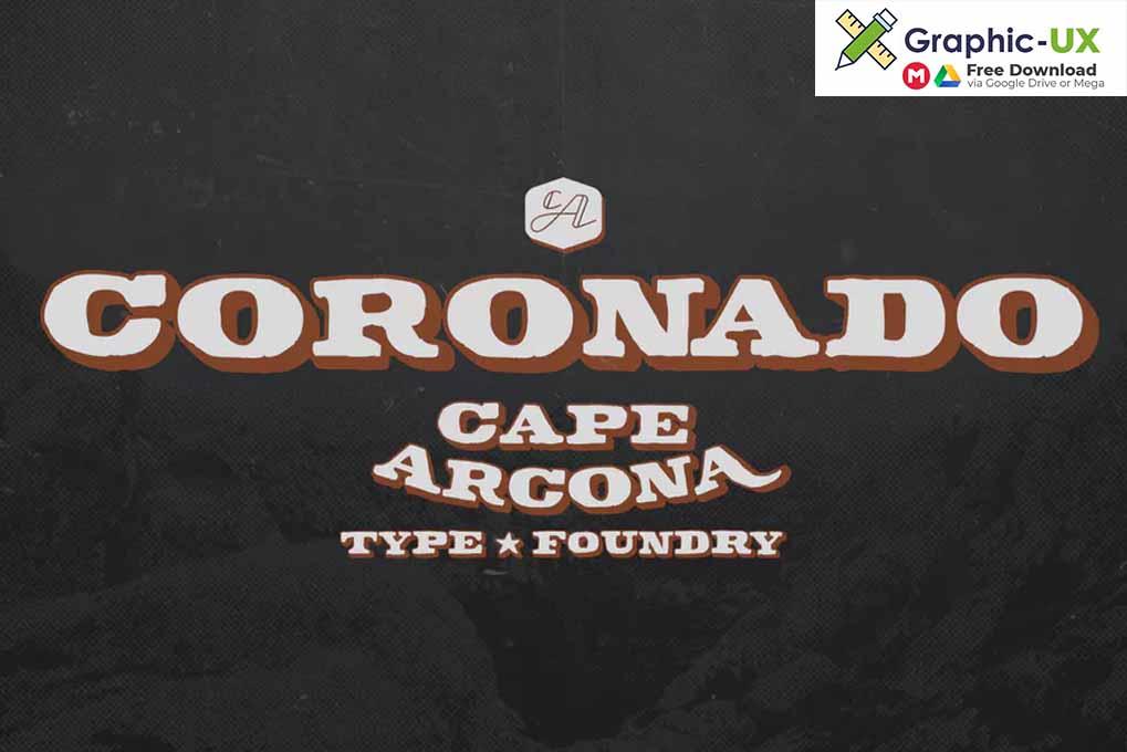CA Coronado Font