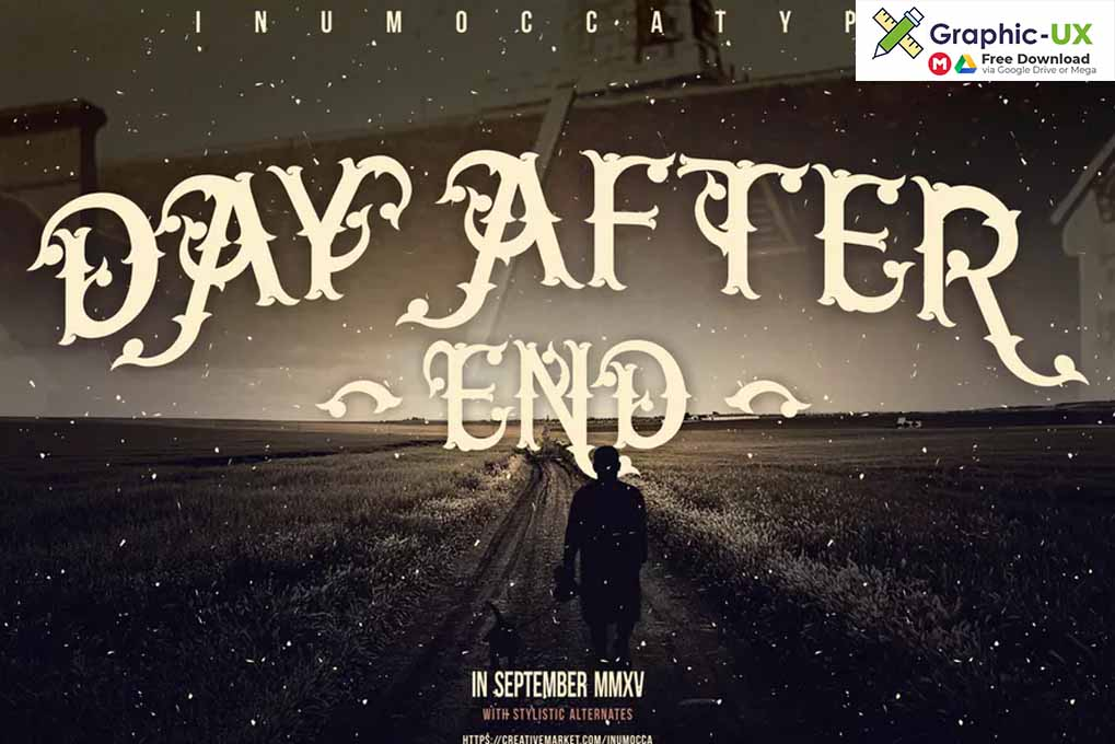 Day After End Font