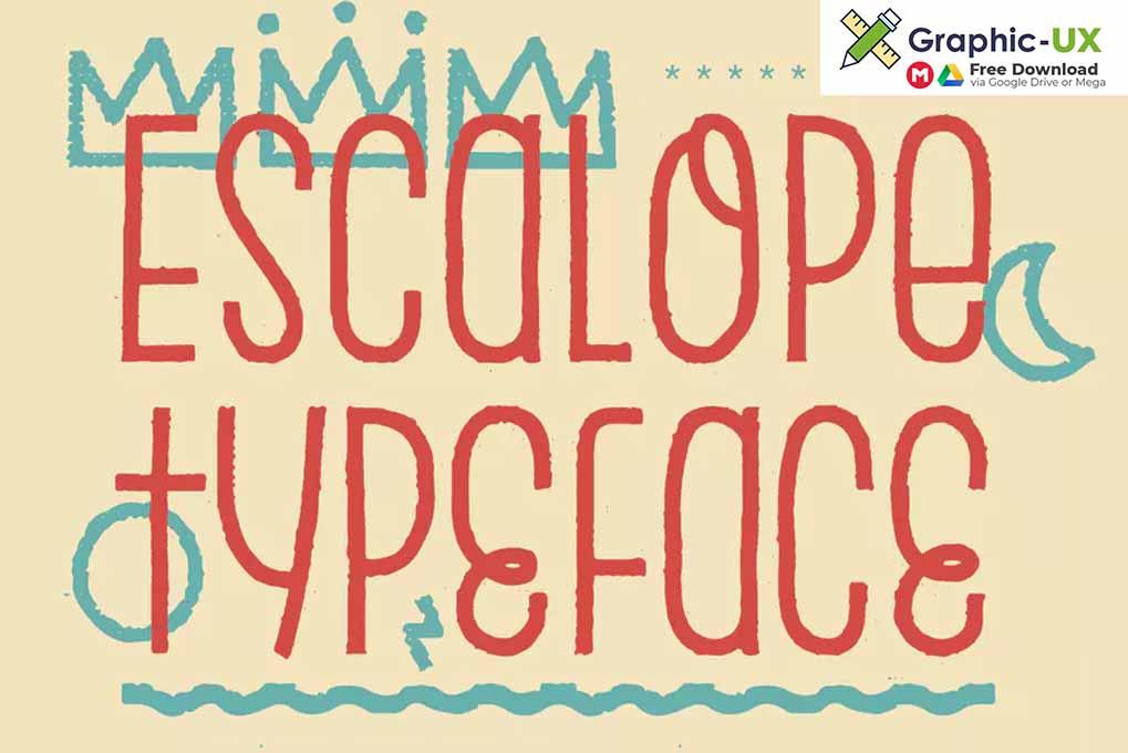 Escalope Font