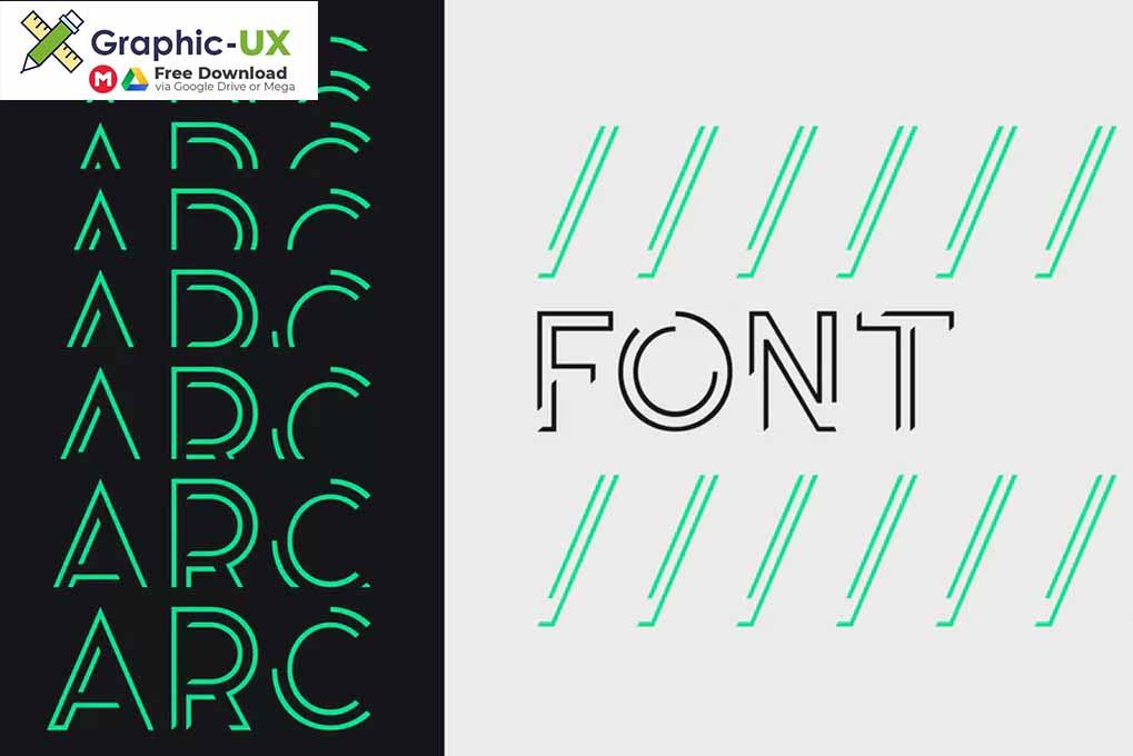 Arc font