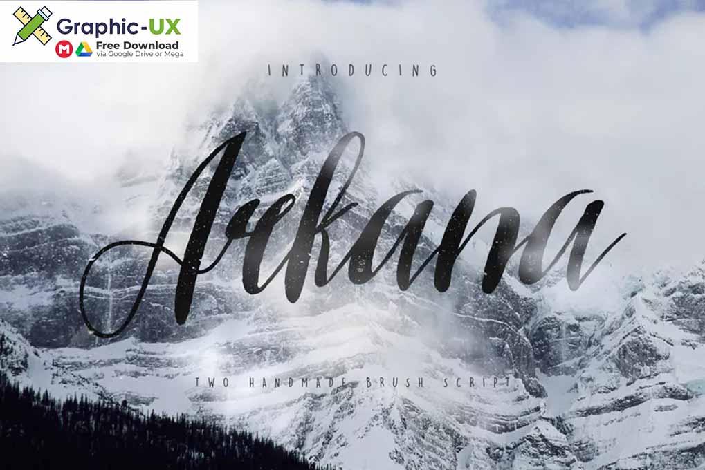 Arkana Script Typeface