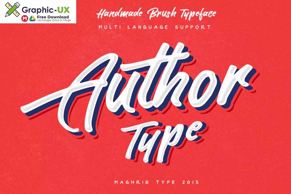 Author Type font