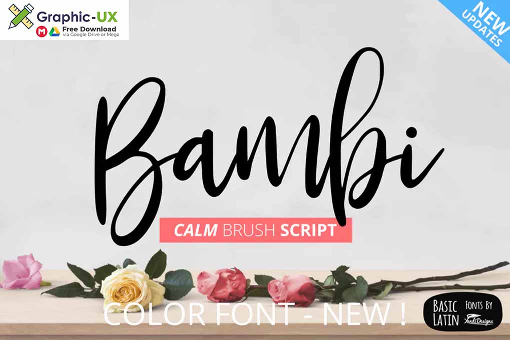 Bambi Fonts free download – GraphicUX