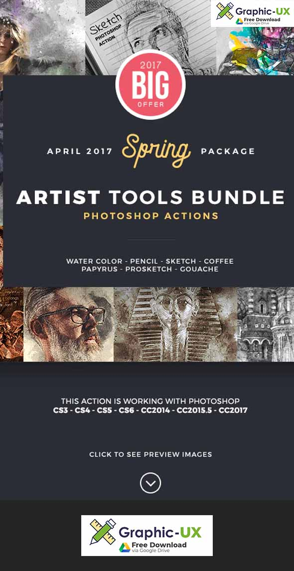Artist Bundle Photoshop Actions