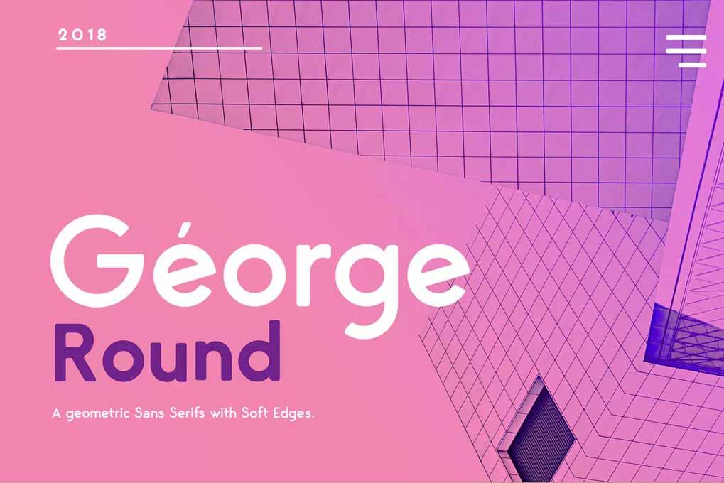 George Rounded Sans Serif font