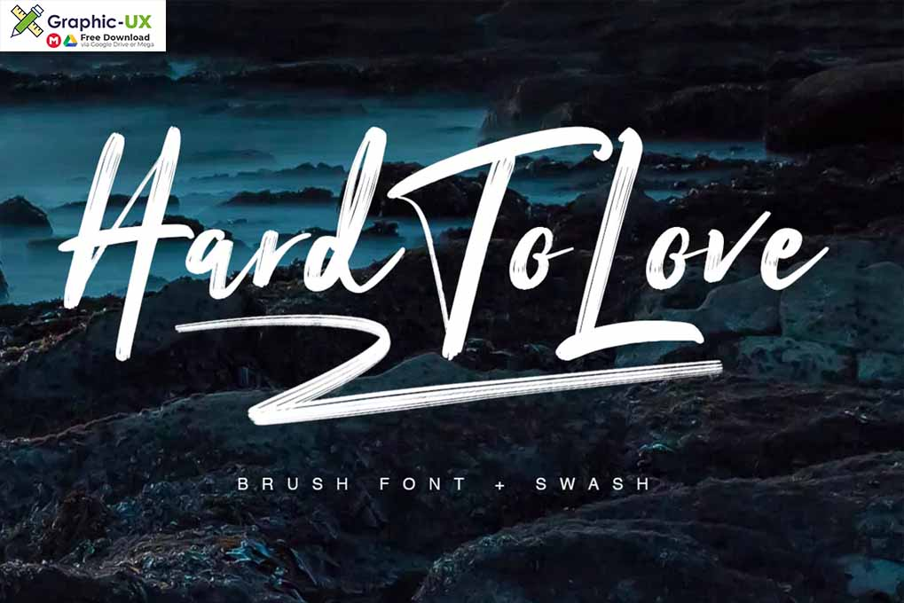 Hard To Love Typeface font