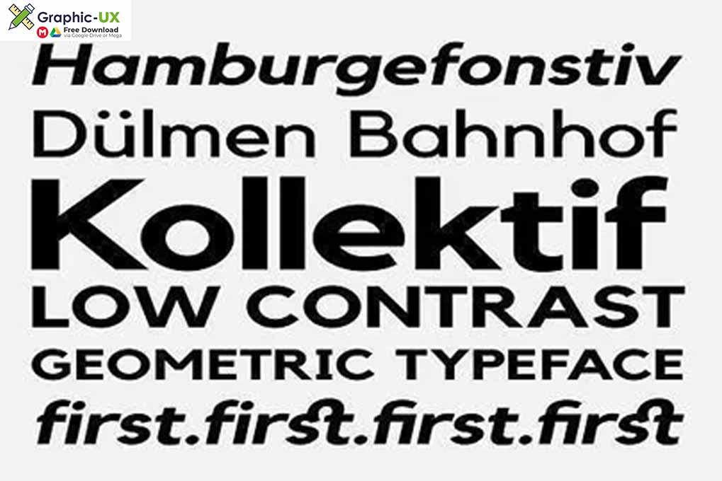 Kollektif Typeface Font