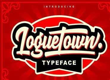 Loguetown Font