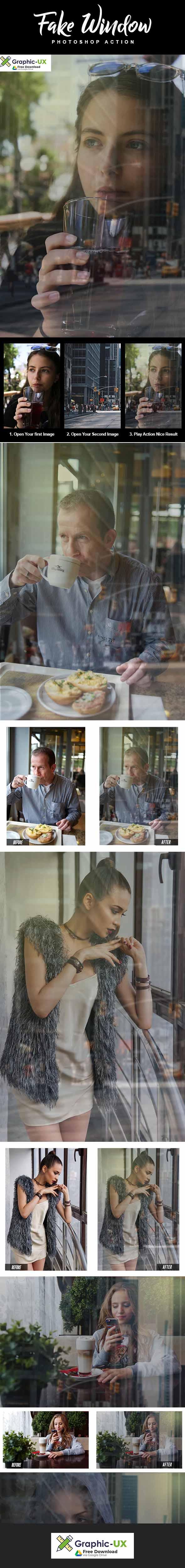 Fake Window Photoshop Action