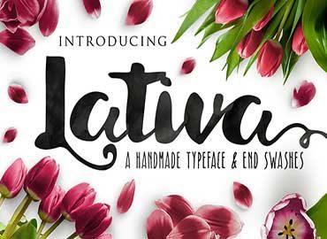 Lativa Font
