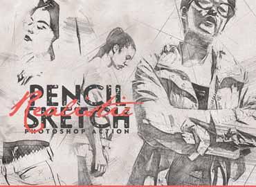 Realistic Pencil Sketch CS3+