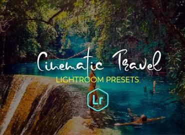 30 Cinematic Travel Lightroom Presets