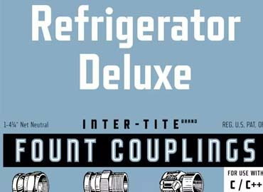Refrigerator Deluxe Font Family