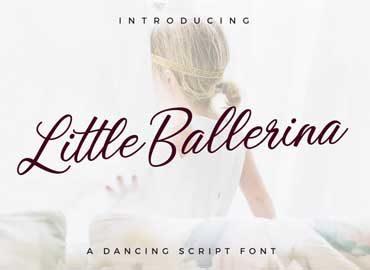 Little Ballerina Font