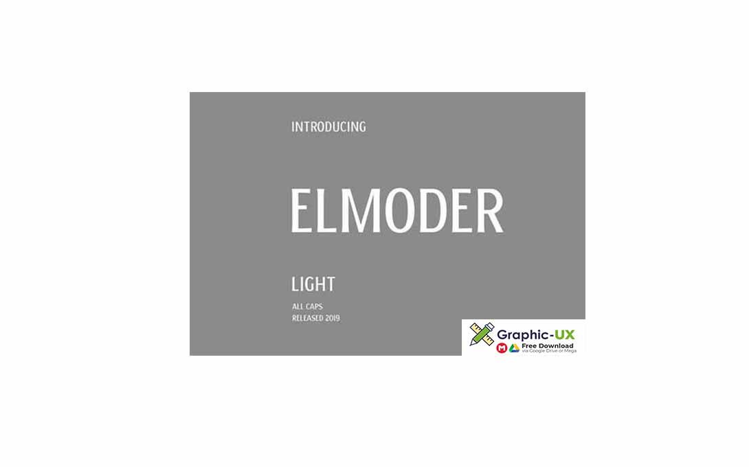 ELMODER LIGHT Font