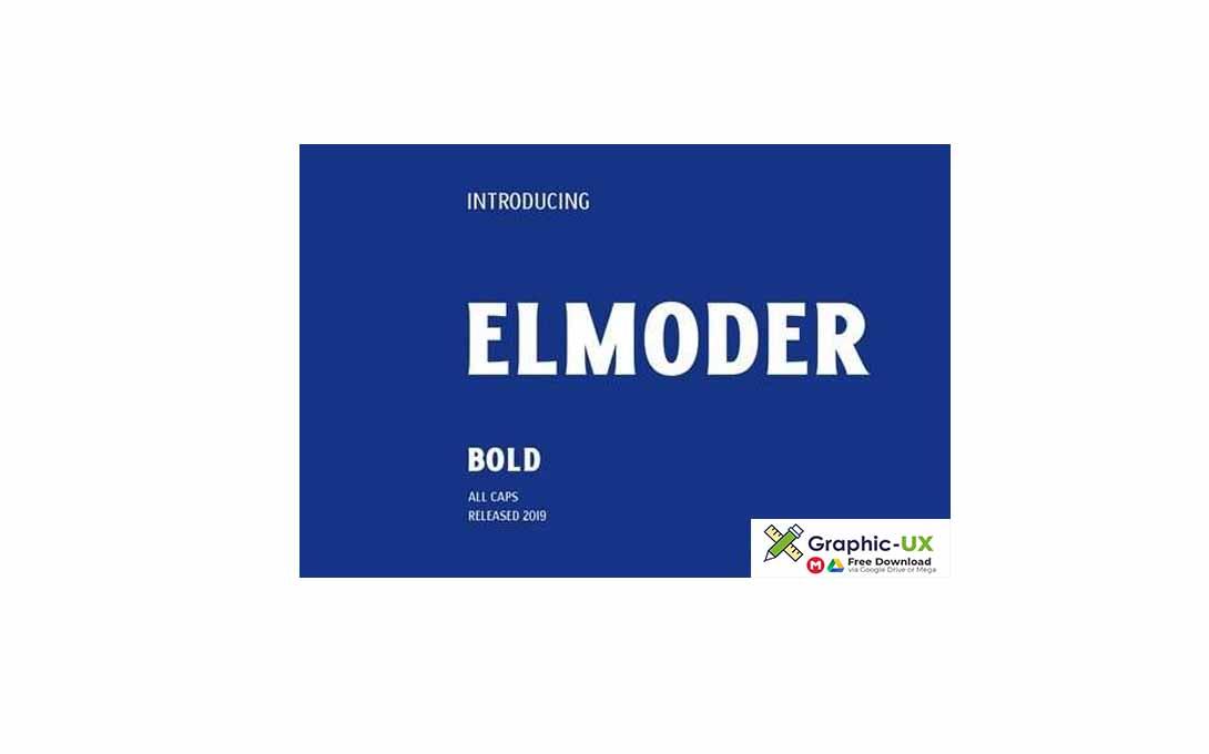 ELMODER BOLD Font