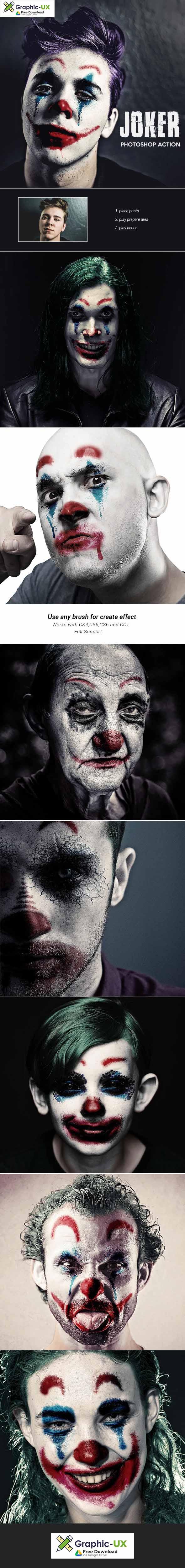 Joker - Photoshop Action