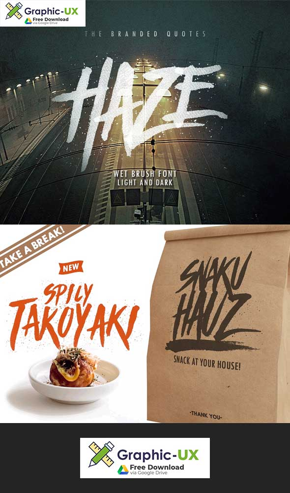 Haze Typeface Font