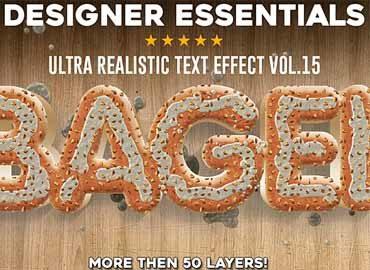Designer Essentials Ultra Realistic Text Effect Vol.15