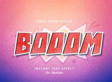 Comic Book Graphic Style for Adobe Illustrator