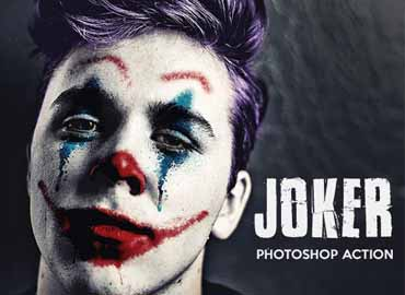 Joker - Photoshop Action