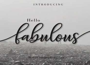 Fabulous Font