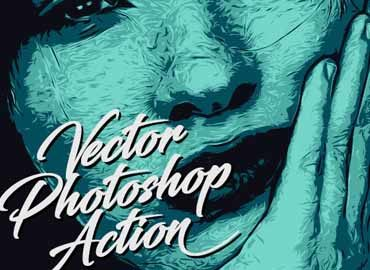 Vector Photoshop Action