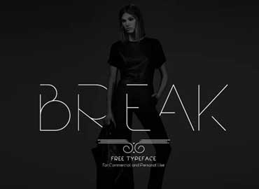 Break Font Family