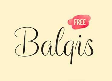 Balqis Font Free