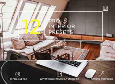 12 Clean Interior Presets