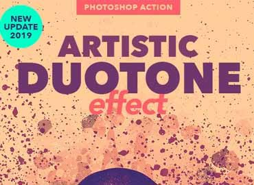 Artistic Duotone Effect - Photoshop Action