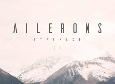 Ailerons Font Free
