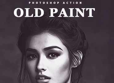 Old Paint Photoshop Action
