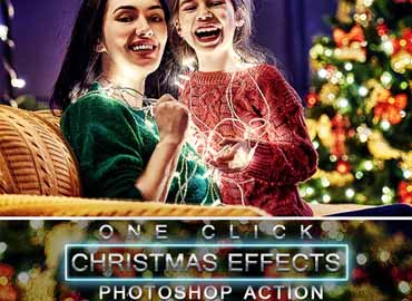 Christmas Photoshop Action