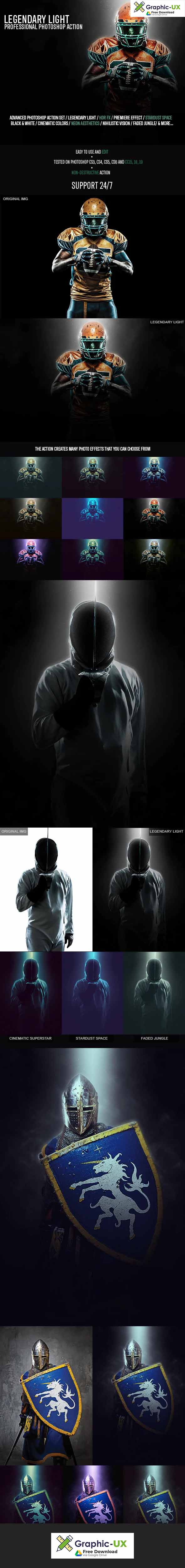 Legendary Light Photoshop Action