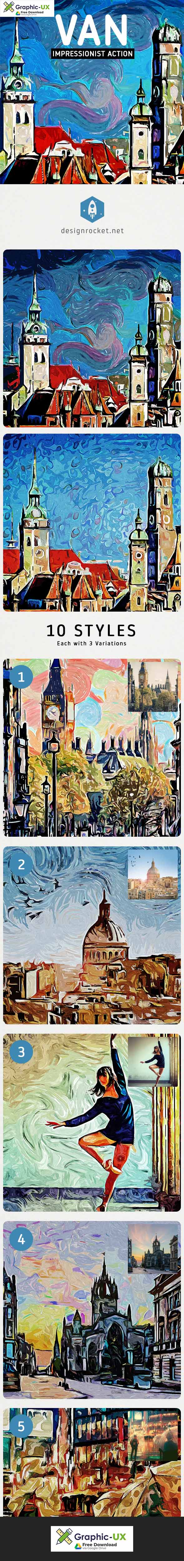 VAN – Impressionist Painting Action