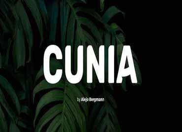 Cunia Font