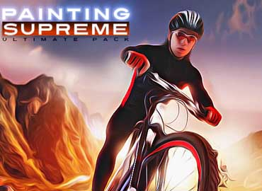 Supreme Painting Photoshop Actions